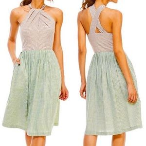 Gal Meets Glam Collection Alma Halter Dress 4 NWT